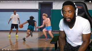 He Caught TJASS ANKLES SLIPPING! He Almost DROPPED Me Then I WENT OFF! 5v5 Basketball In Milwaukee!