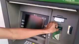 Bằng Chứng Rút Tiền Libertagia bằng thẻ Asap ở Cây ATM Vietcombank