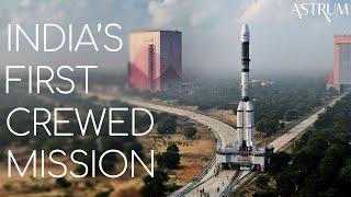 India's First Crewed Mission | ISRO Gaganyaan Vyommitra