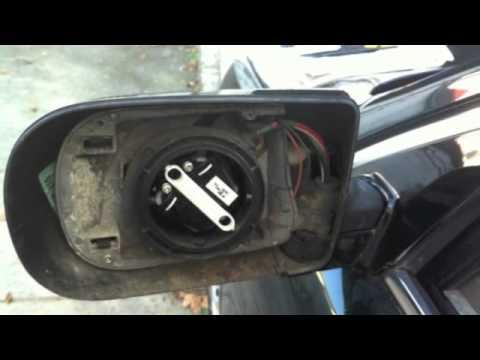 Bmw E38 E39 Power Folding Mirror Repair Youtube