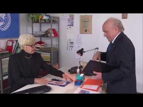 Blatter besucht Del Ponte