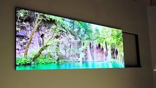 WATCH World`s First Samsung's 75″ Modular Micro LED 10K TV