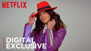 Carmen Sandiego  | 90's Favorites with Carmen Sandiego's Gina Rodriguez [HD] | Netflix