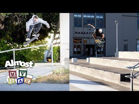 Video ALMOST SKY DOODLE SKATEISTAN 7.5 Complete Skateboard