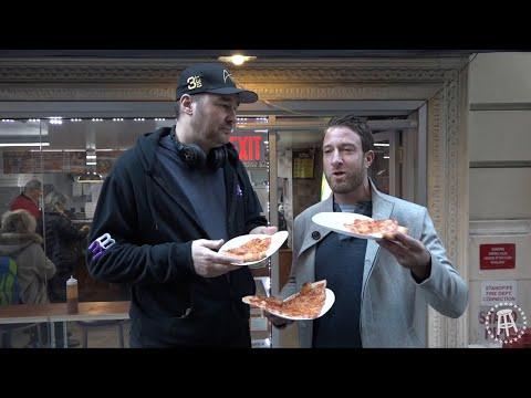 Hellmuth assaggiatore di pizza sul vlog One Bite di Portnoy