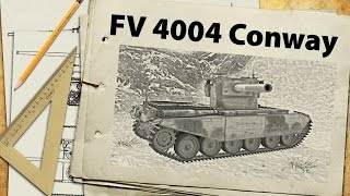FV 4004 Conway - первый тест