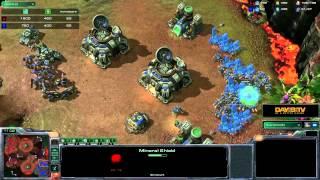 StarCraft II: Heart of the Swarm - Battle Report (Terran vs Protoss)