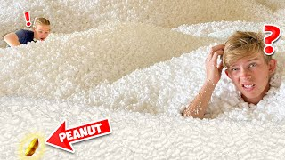 Find the REAL Peanut in 1,000,000 Packing Peanuts! *CHALLENGE*
