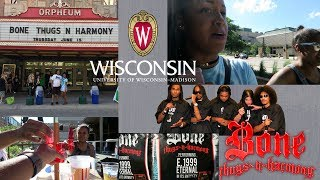 BONE THUGS-N-HARMONY CONCERT! | UNIVERSITY OF WISCONSIN | ILLUMINATED REEALITY