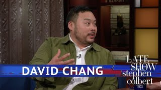 David Chang Is A Renowned Chef Who Likes Domino's