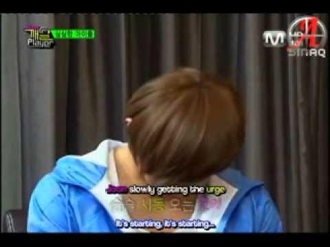 MBLAQ funny moment - Seungho mermaid & G.O Kiss Me