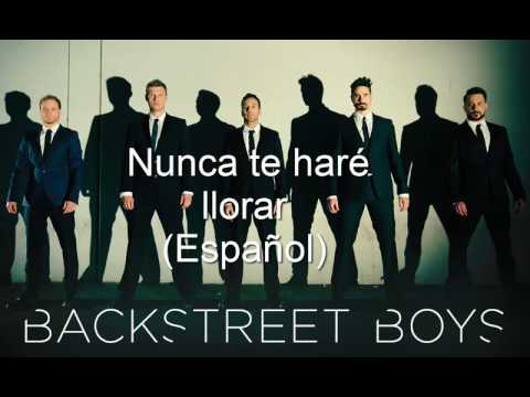 Backstreet Boys - Nunca te hare llorar (español)