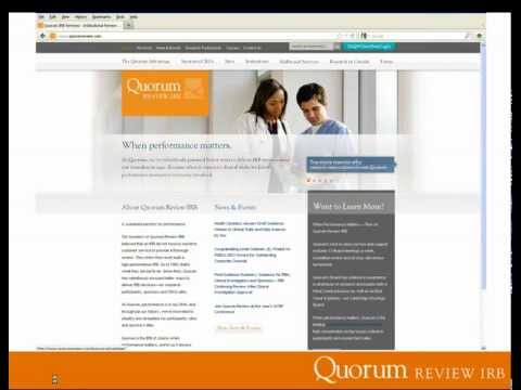 Research and HIPAA: Recruitment, Consent and Beyond - Quorum Review IRB | Webinar