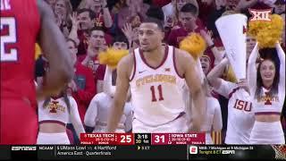 Texas Tech vs Iowa State Men's Basketball Highlights
