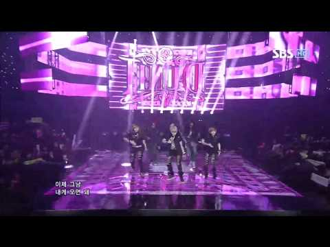 D-UNIT [Luv ME] @SBS Inkigayo 인기가요 20121118