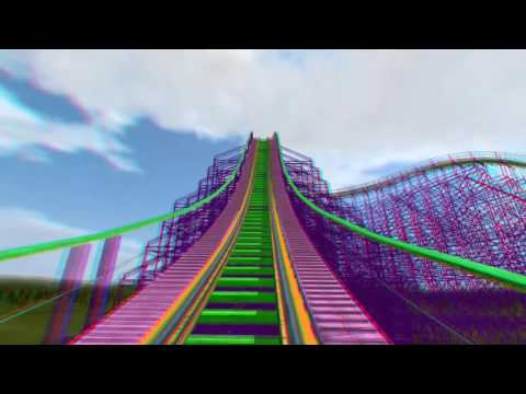 3D Rollercoaster: Ultraviolet by @KNPWeb