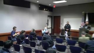 Davis Police press conference on slain officer Natalie Corona