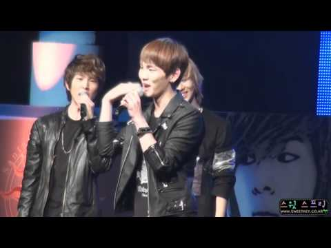 [fancam] 110220 SHINee Key dances & sings Sistar - How dare you @ Santafe Special Event