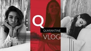 Tollywood actress Hansika shares quarantine moments..