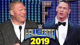 10 WWE Hall of Fame 2019 Rumors - Brock Lesnar & John Cena Getting Inducted