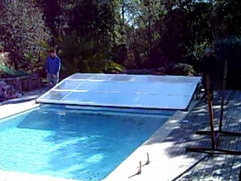 Abri piscine plat telescopique repliable coulissant non for Aladdin abri piscine