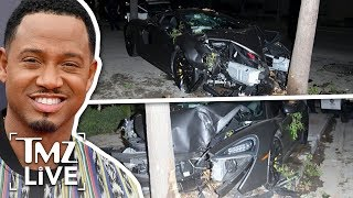 Terrence J: $200K Car Destroyed! | TMZ Live