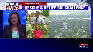 Kerala floods: PM Narendra Modi conducts aerial survey, announces relief assistance of Rs 500 cr
