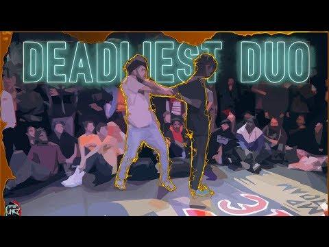 ZYKO & DYKENS | Deadliest Dance DUOS | Dance Battle Compilation 🔥