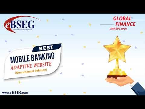 eBSEG Omnichannel Digital Banking Platform wins Global Finance 2020 Award