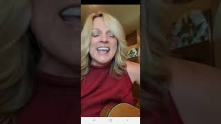 "Rhonda Vincent singing ""record book"" For the first time EVER"