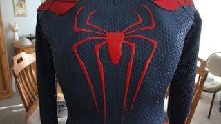 The Amazing Spiderman 2 Updated Suit Replica