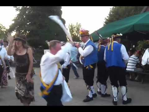 Millstone customers get a taste of Morris Dancing