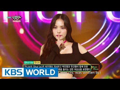 언니쓰 (Unnies) - Shut Up [Music Bank HOT Stage / 2016.07.01]