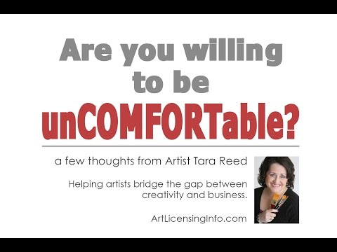 Are you willing to be uncomfortable to build the art business you want?