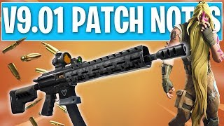 FULL Details  The ACTUAL Best Update! Fortnite 9.01 Patch Notes!
