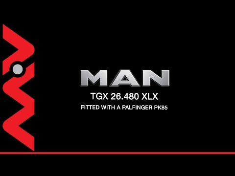 2010 MAN 26-480 XLX  - Palfinger PK85002