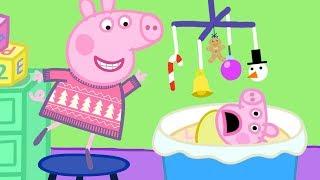 Peppa Pig English Episodes 🎄 Visiting Cousin Chole's Family  🎄 Peppa Pig Christmas