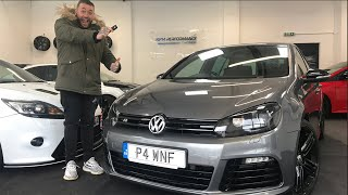 COLLECTING A 414BHP, BIG TURBO, GOLF MK6 R FOR THE WEEK!