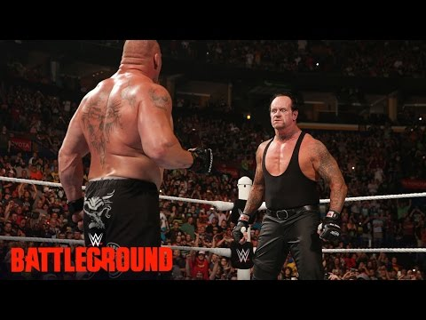 Retour de The Undertaker contre Brock Lesnar à WWE Battleground 2015