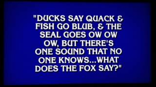 Funniest Jeopardy Category EVER