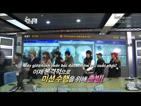 [Vietsub] Running Man Ep 20 (Super Junior Kim Hee Chul, After School Lizzy) 1/6