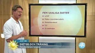 Dr Mikael avslöjar den enda dieten som funkar - Nyhetsmorgon (TV4)
