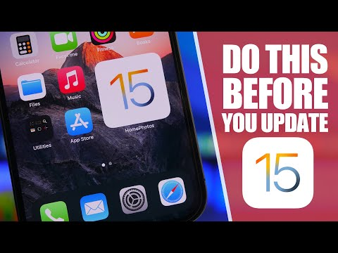 5 Things You MUST Do Before You Install iOS 15 FINAL !