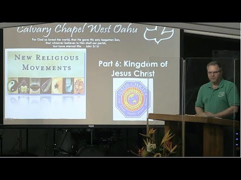 28 October 2020 CCWO's Midweek Cult Study 'Part 6. Kingdom of Jesus Christ' Pastor Dan Jacobson