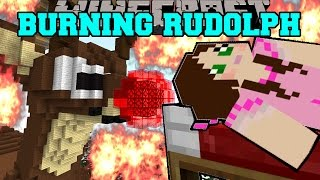 Minecraft: BURNING RUDOLPH (THE RED NOSED REINDEER HOUSE!) Mini-Game