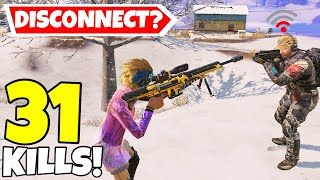 HE GOT DISCONNECTED & THEN THIS HAPPENED IN CALL OF DUTY MOBILE BATTLE ROYALE!