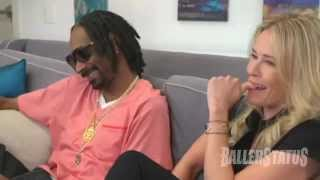 Chelsea Handler Smokes Weed With Snoop Dogg, Snacks On Dogg Food Funny Video