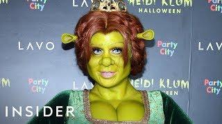 Heidi Klum's Halloween Costume 2018: Fiona From 'Shrek' Took Weeks To Make