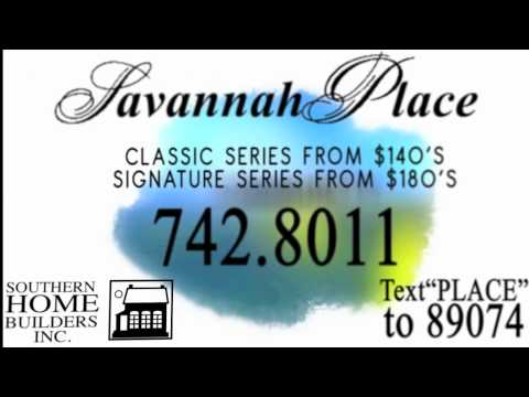 Southern Home Builders - Savannah Place