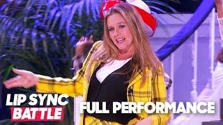 "Alicia Silverstone Performs ""Cryin'"" & ""Fancy"" | Lip Sync Battle"